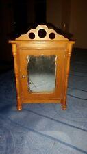 kleiner antiker Wäscheschrank Kirschholz + Spiegel Gebr. Schneegass Puppenstube