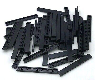 Lego Black Tile 1x8 8 pieces NEW!!!