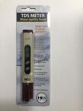 Tds Meter Water Hmd Quality Tester Tds 4tm New Total Dissolved Solids
