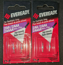 for AA /& AAA Flashlights 1.5 Volt 2pcs T1-2 Light Bulb High Intensity 2 pin