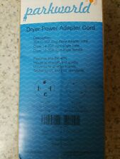 30A 1.5FT 250V Parkworld 60134 Dryer Adapter Cord NEMA 14-30P Male to 10-30R Female