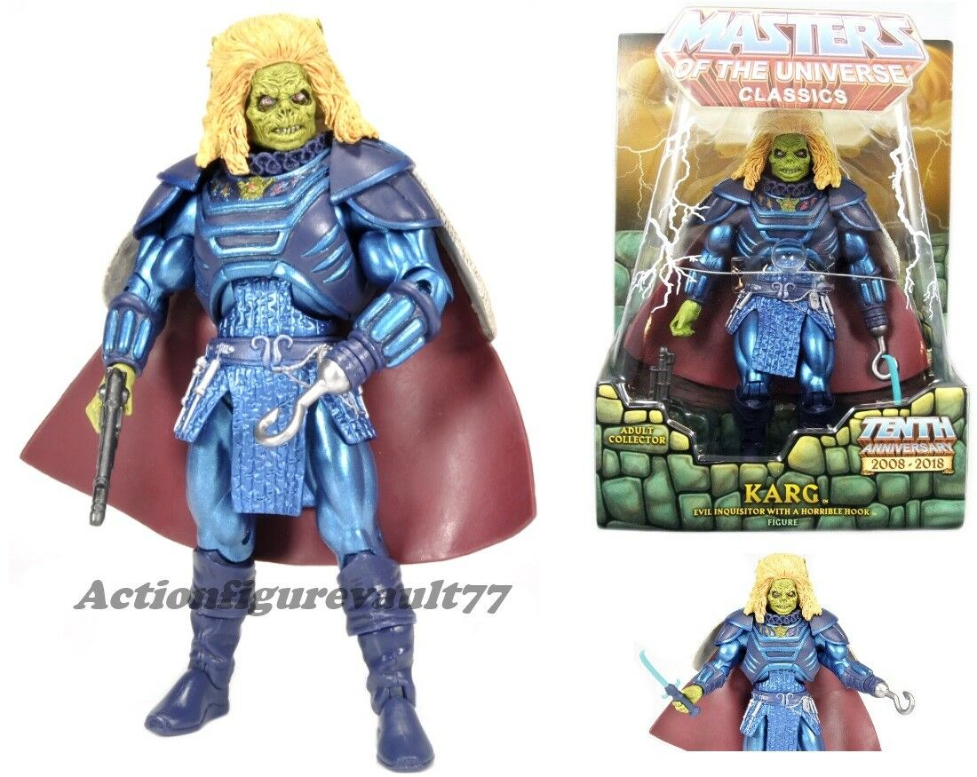Masters of the Universe SUPER 7 MOTU Classics KARG ----Read Listing----
