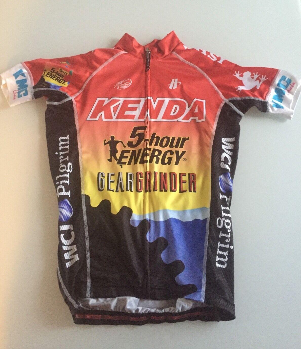Kenda 5-hour Energy Hincapie Velocity Jersey Men's XS Cycling