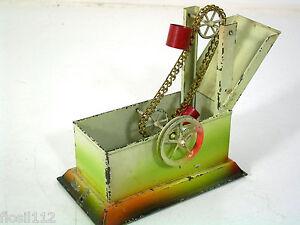 Antriebsmodell F.dampfmaschine,schöpfbrunnen,.30er Jahre,spur 0,