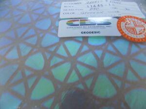 """Dichroic Glass:CBS 90COE Silver on Flat Clear 3/"""" Sq"""