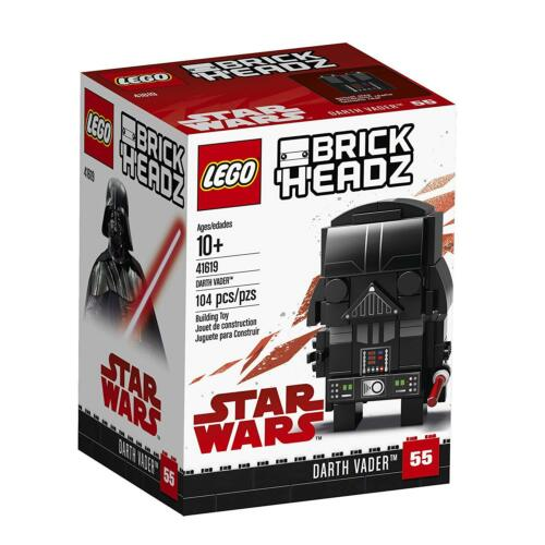 Star Wars LEGO BRICK HEADZ 41619 Darth Vader 104pcs BUILDING BLOCK FIGURE NEW