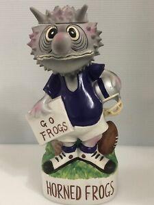 1972 Mccormick Tcu Horned Frogs Football Mascot Decanter