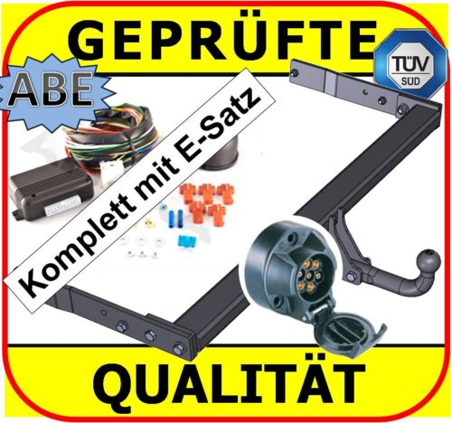 AHK ES7 abnehmbar ABE VW Passat C3 Bj 05-10 Anhängerkupplung Stufenheck vertikal