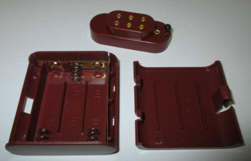 Nuovo//Scatola Originale * Kahlert 60897 batteriebox con cappuccio per 3x1,5 BATTERIE VOLT