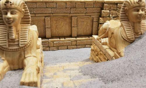 Ägypten Figur Sphinx 13,0 x 7,0cm witterungsbeständig für Modell Krippenbau