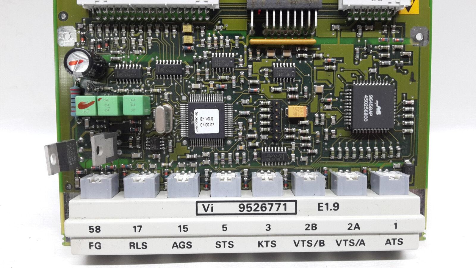 Viessmann Viessmann Viessmann Fühlerplatine Dekamatik VI 9526771  E 1.9 Steuerplatine  a762 b1dd6b