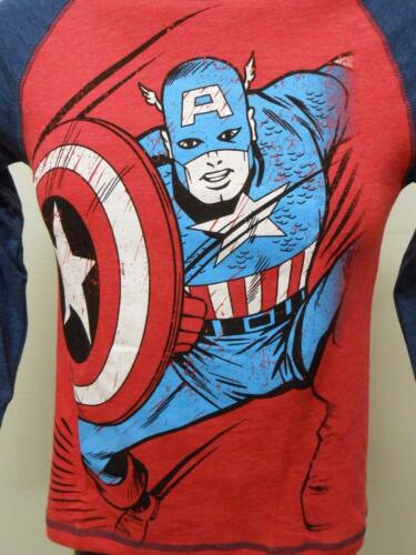 NEW Marvel Captain America Youth Sizes S-M-L-2XL 6//7-8-10//12-18 Shirt