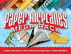 Paper airplanes mega pack: Instructions to fold 4 planes and enough paper to make hundreds of gliders by Norman Schmidt (Mixed media product, 2014)