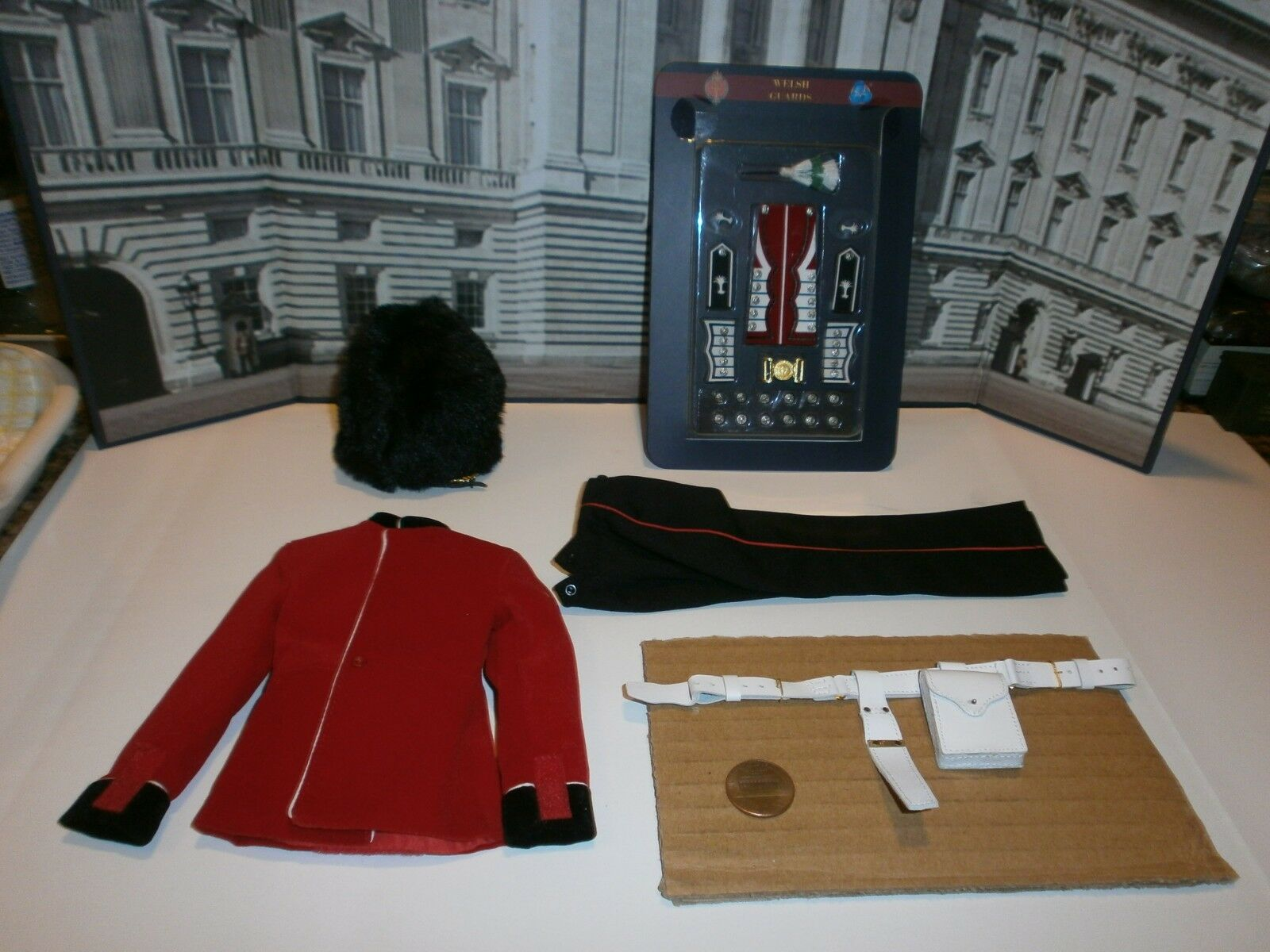 Did The Guards Welsh Guards uniform set 1 6th scale toy accessory