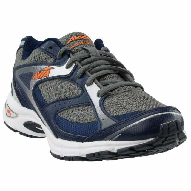 Avia Execute  Casual Running  Shoes - Grey - Mens