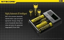NITECORE 2016 New i4 Intellicharger 18650 Li-ion Ni-MH NiCd Smart Charger 4 Slot
