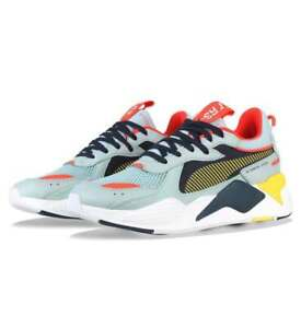 Details about Puma x Reinvention RS X Whisper Light Sky Peacoat Lifestyle Sneakers 369579 03