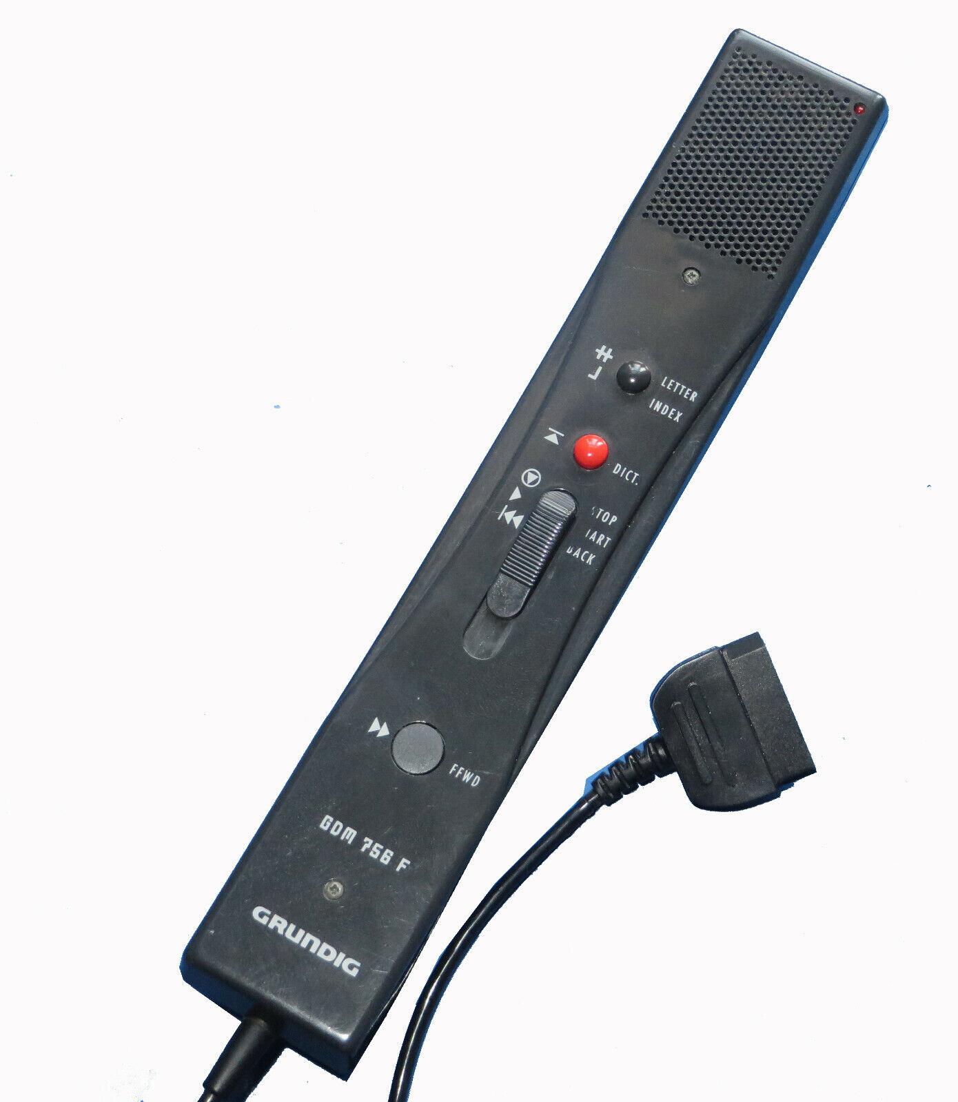 Grundig GDM 756 F Mikrofon Handmikrofon