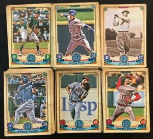 Details About 2019 Topps Gypsy Queen Baseball Base Cards And Variations Lot You Pick