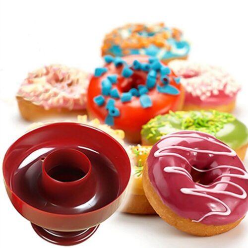 Donut Maker Cutter Mold Fondant Cake Bread Desserts Bakery Mould Tool p ,