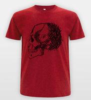 Skull Illustration Drawing Emo Band Tee Sketch Bones T-shirt Skater Top
