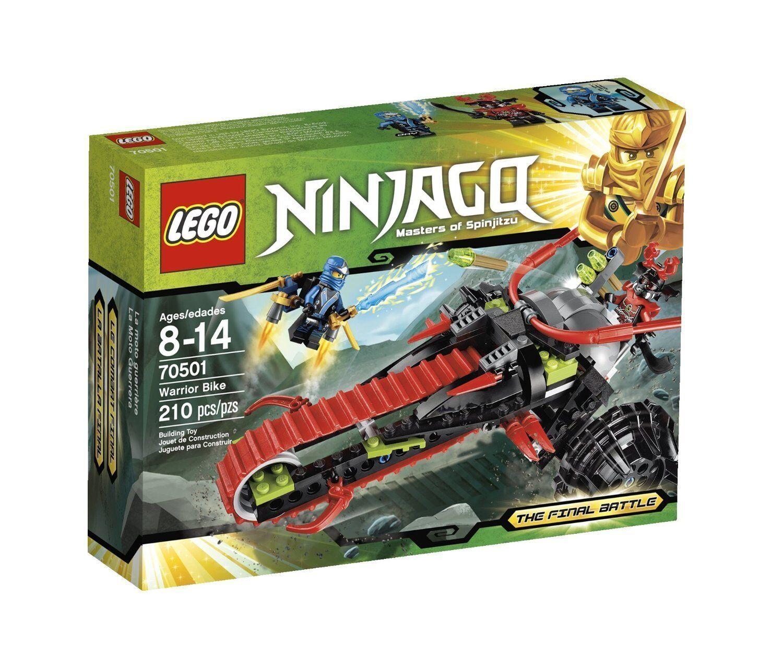 Lego Ninjago 70501 WARRIOR BIKE bluee Ninja Minifigs NISB Xmas Gift Present