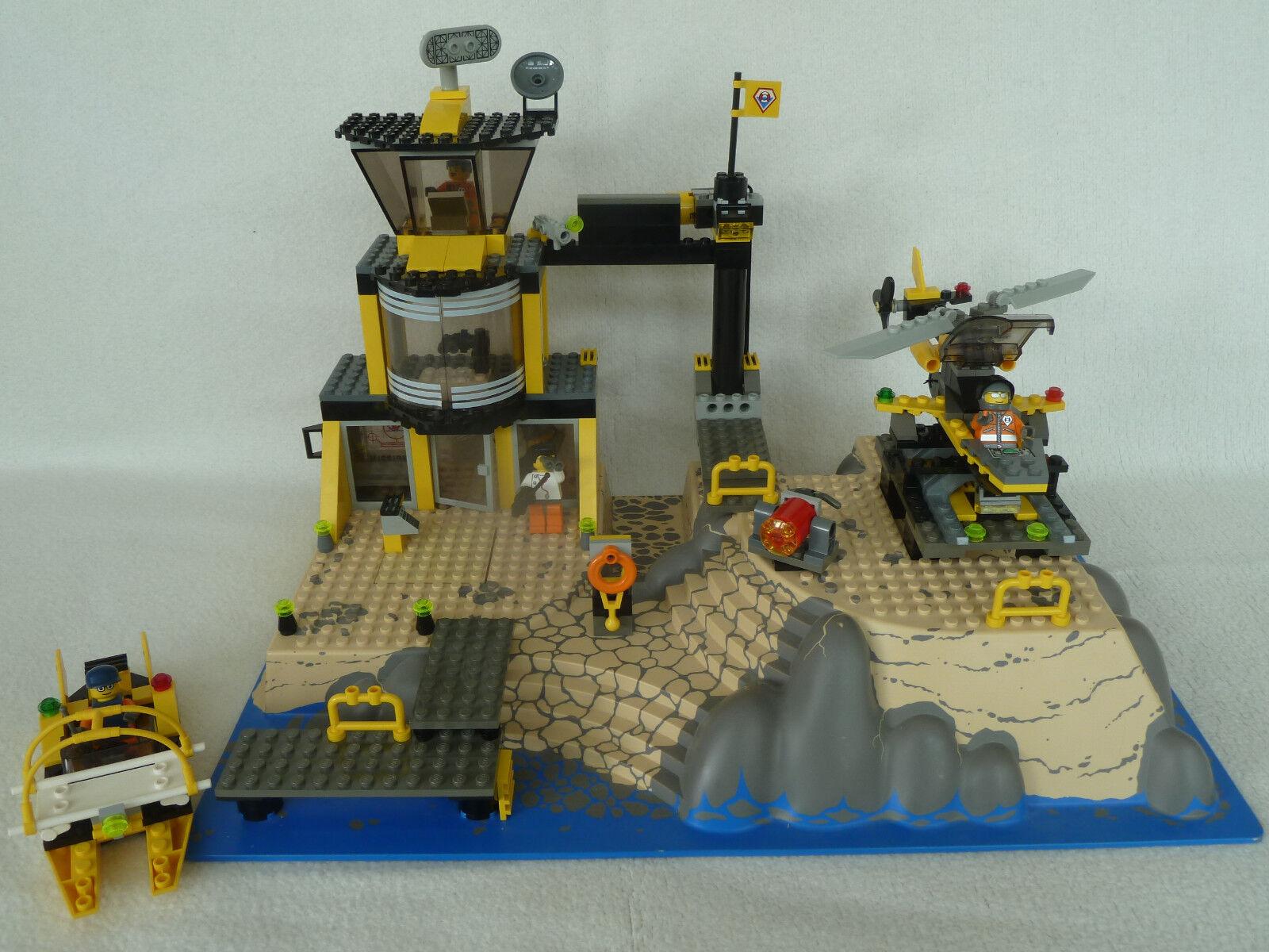 7047 Lego World City Küstenwache   Coast Watch (2003) – Guter Zustand