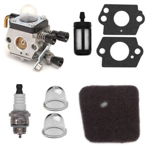 Carburetor Kit For St Fs38 Fs45 Fs46 Fs46c Fs55 Fs55r Km55r Fc55 Fs75 Fs80 Fs85 Trimmer C1q-s186a C1q-s143 C1q-s153 C1q-s71 Garden Power Tools Chainsaws