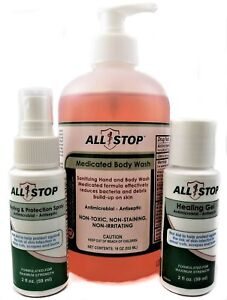 Details about Staph Bacteria Skin Infection Healing Treatment Combo Pack -  by AllStop