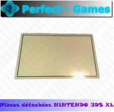 vitre protege ecran haut blanc protection top upper lcd cover plastic 3DS XL LL