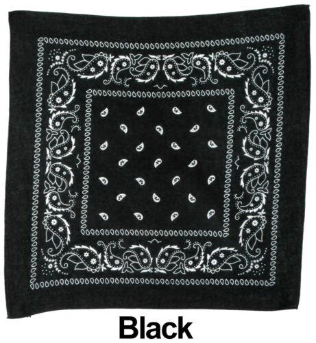 PICK 2 en coton imprimé cachemire Designs Foulard Bandana Mouchoir Head Wrap