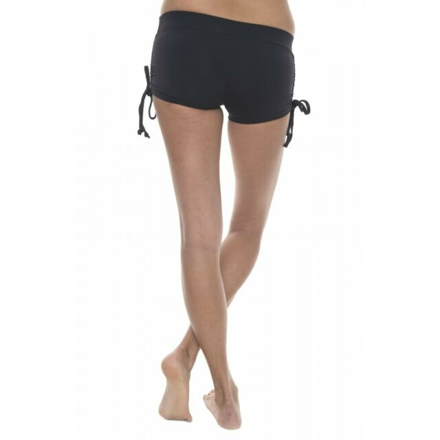 Hot Yoga Shorts Pole Dance Dancing Shorts Side Tie Roller Derby Hotpants Twerk B