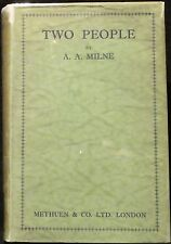 Milne, A. A.  Two People.  First Edition.