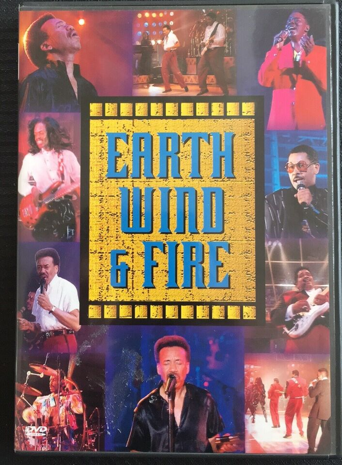 Earth Wind & Fire - Live, DVD, andet
