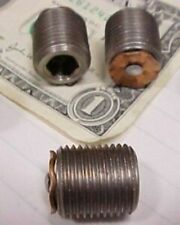 Lot 25 Stainless Hydraulic Pressure Relief Vent Plugs, 5/8-18 Gearbox Caps New