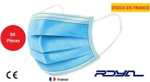 Promo Masque lotde 50 pièces Stock en France Livraison rapide et gratuite