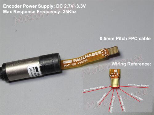 Faulhaber 8mm Corless Motor Precision Encoder Micro Servo Motor DC 3V DIY Robot