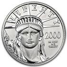 2000 1/4 oz Platinum American Eagle BU - SKU #7456