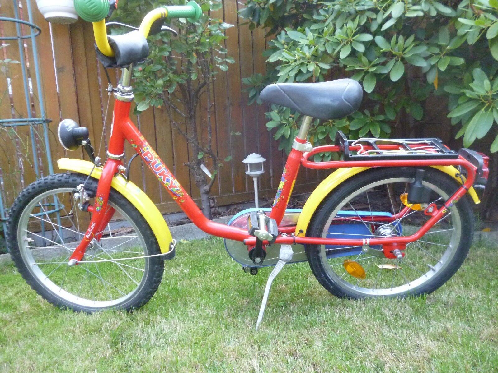 Puky 18 Zoll Kinderfahrrad Kinderrad Fahrrad Rad mit Licht & Dynamo ausgestattet