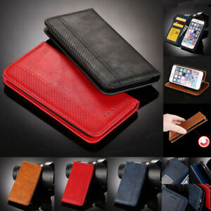 Luxury Magnetic Flip Cover Stand Wallet Leather Case For HTC A9S D12 U11 U12 M9