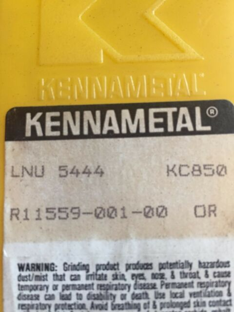 KENNAMETAL GD2004R New Carbide Inserts Grade KC710 5pcs O