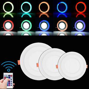 3W-18W Ultraslim LED Panel Leuchte Deckenleuchte Einbaustrahler Wandleuchte Weiß