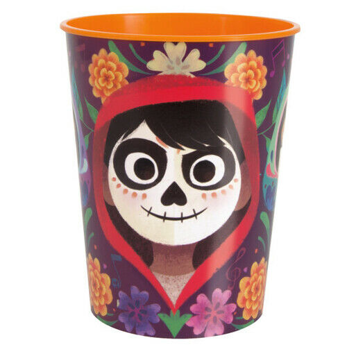COCO REUSABLE KEEPSAKE CUPS ~Birthday Party Supplies Day of the Dead Plastic 2