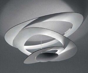 Artemide pirce mini soffitto alogena art 1247010a ebay