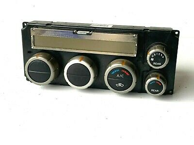 05 06 07 Nissan Pathfinder Heater AC Climate Control Auto Temp LCD 27500EA51A