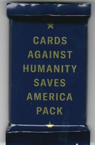 NEW Cards Against Humanity Saves America Pack Ages 17 30 Cards FAST FREE SHIP