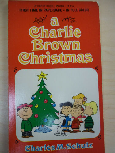 Vintage A Charlie Brown Christmas by Charles M. Schulz PB First Print 1967