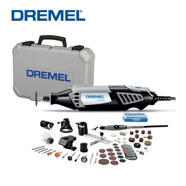 Dremel 4000-DR Rotary Tool Kit High Performance Variable Speed with accessories