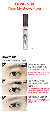 [Etude House] Color My Brows, Keep My Brows Fixer ( Korea Genuine )