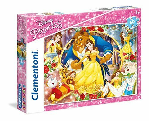 Clementoni 26966.2 Beauty and the Beast Puzzle 60 pièces